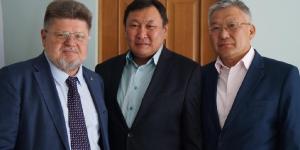 Встреча Брюн Е.А и Самбуев Д.Н.