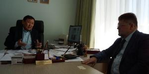 Встреча с главным психиатром-наркологом России Брюном Е. А. и министром здравоохранения РБ Самбуевым Д. Н.